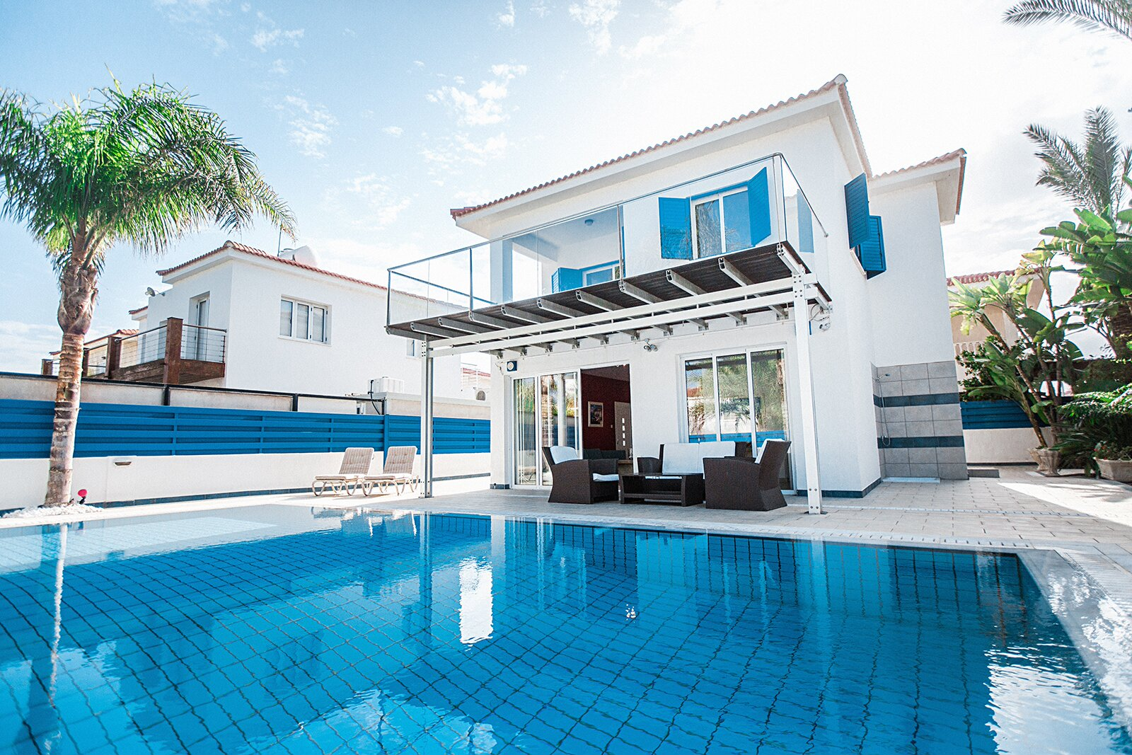 3b Blue Villa private pool - Protaras